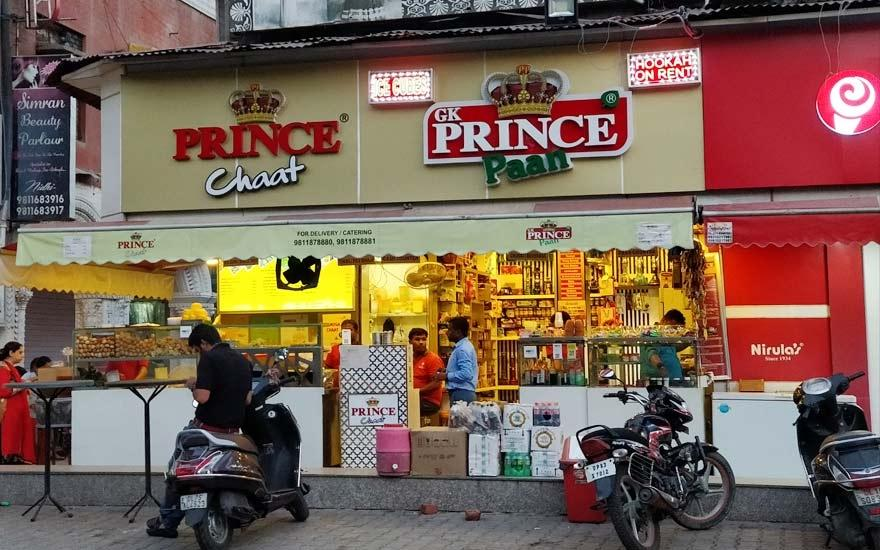 Prince Paan, Greater Kailash