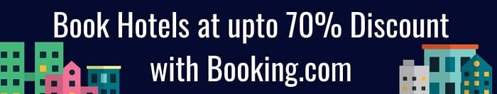 Boooking.com Hotels at upto 70% Discount