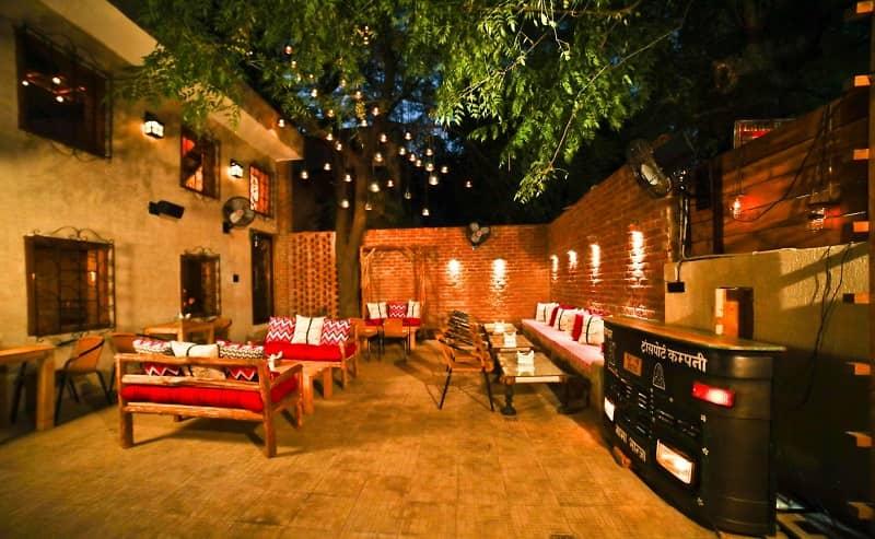 Best Food Places in Delhi: Nukkad Cafe, SDA Market