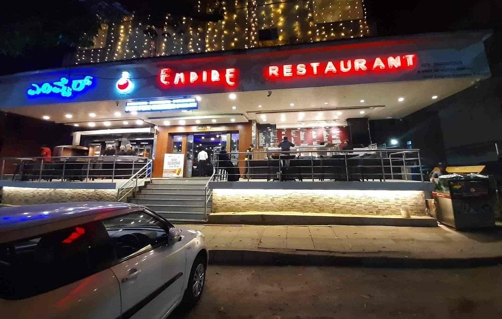 Empire Restaurant, Indiranagar