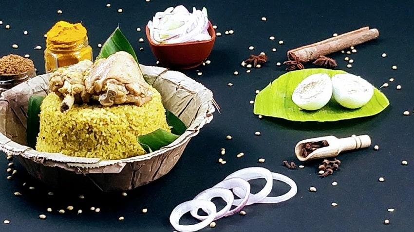 SGS Non-veg Gundu Pulav