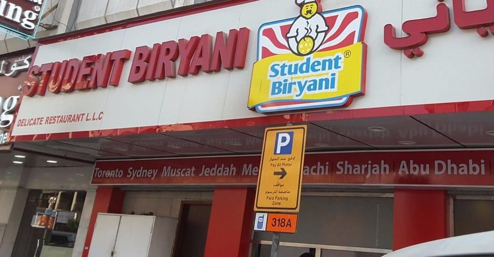Student Biryani, Dubai